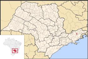map of Aparecida