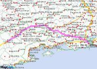 driving from Rio de Janeiro to Aparecida